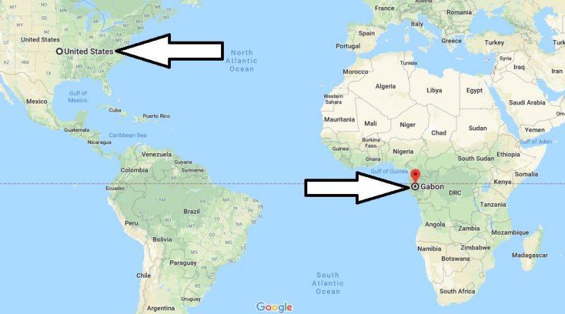 Where is Gabon - Where is Gabon Located in The World - Gabon Map