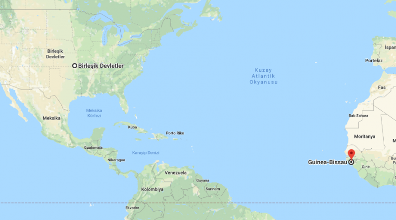 Where is Guinea-Bissau - Where is Guinea-Bissau Located in The World - Guinea-Bissau Map