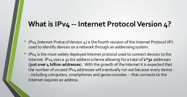 What is IPv4 and IPv6 - What Are The Differences