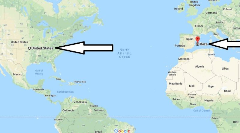Where is Ibiza Located on the World Map