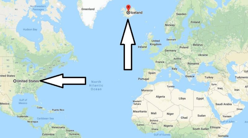 Where is Iceland - Where is Iceland Located in The World - Iceland Map