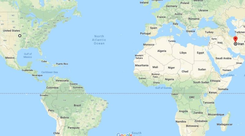 Where is Iran - Where is Iran Located in The World - Iran Map