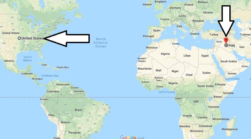 Where is Iraq - Where is Iraq Located in The World - Iraq Map