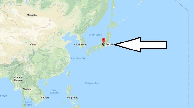 Where is Japan - Where is Japan Located in The World - Japan Map