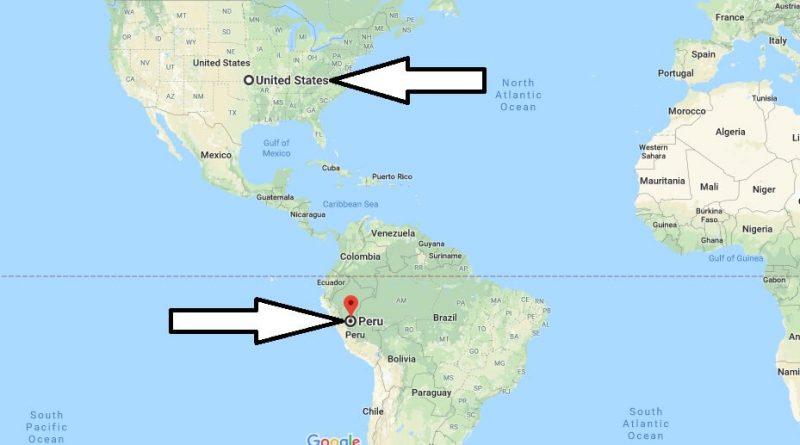 Where is Peru - Where is Peru Located in The World - Peru Map