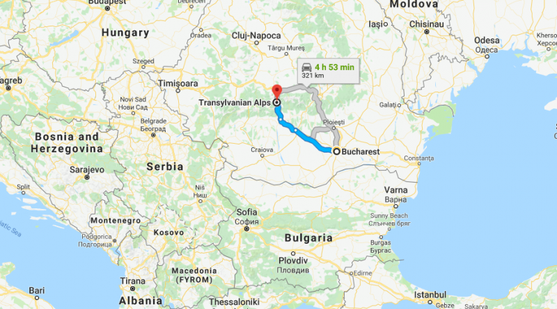 Where is Transylvania - Is Transylvania a real country