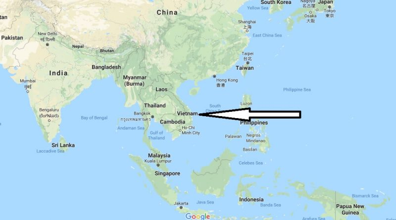 Where is Vietnam - Where is Vietnam Located in The World - Vietnam Map