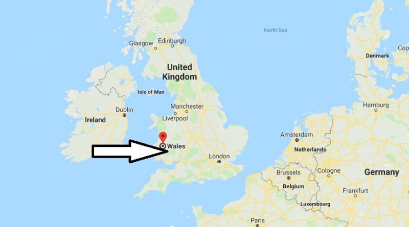Where is Wales country - Where is Wales Located in The World - Wales country Map