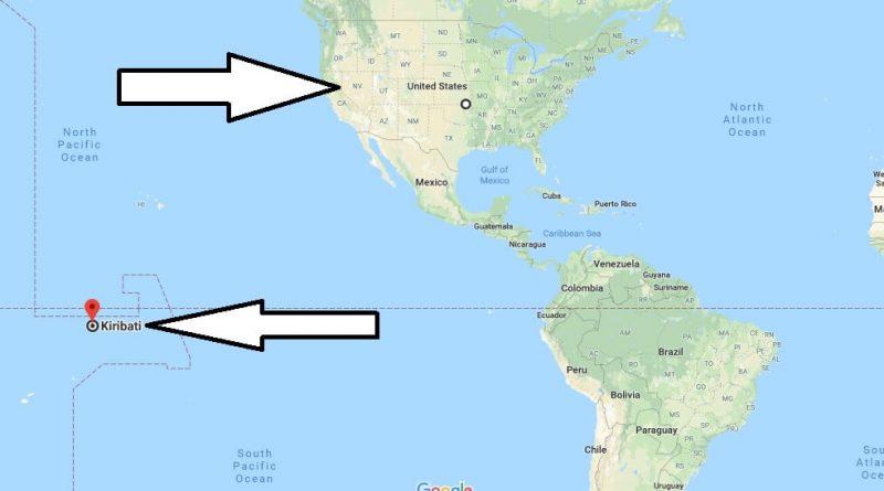 Where is Kiribati - Where is Kiribati Located in The World - Kiribati Map