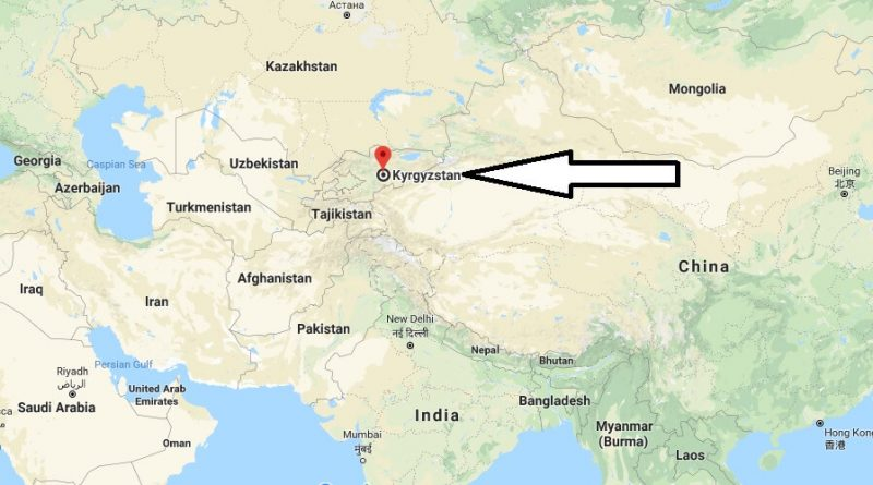 Where is Kyrgyzstan - Where is Kyrgyzstan Located in The World - Kyrgyzstan Map