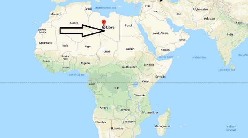 Where is Libya - Where is Libya Located in The World - Libya Map