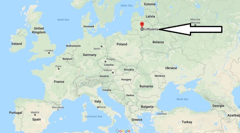 Lithuania On World Map Where is Lithuania? / Where is Lithuania Located in The World