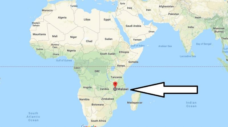 Where is Malawi - Where is Malawi Located in The World - Malawi Map