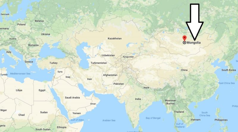 Where is Mongolia - Where is Mongolia Located in The World - Mongolia Map