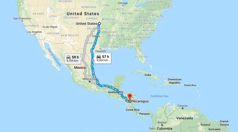 Where is Nicaragua - Where is Nicaragua Located in The World - Nicaragua Map