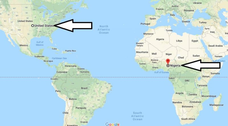 Where is Nigeria - Where is Nigeria Located in The World - Nigeria Map