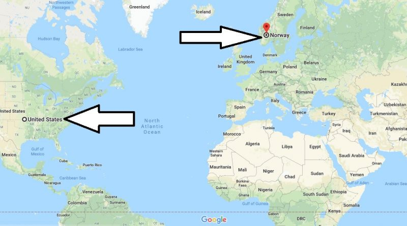 Where is Norway - Where is Norway Located in The World - Norway Map