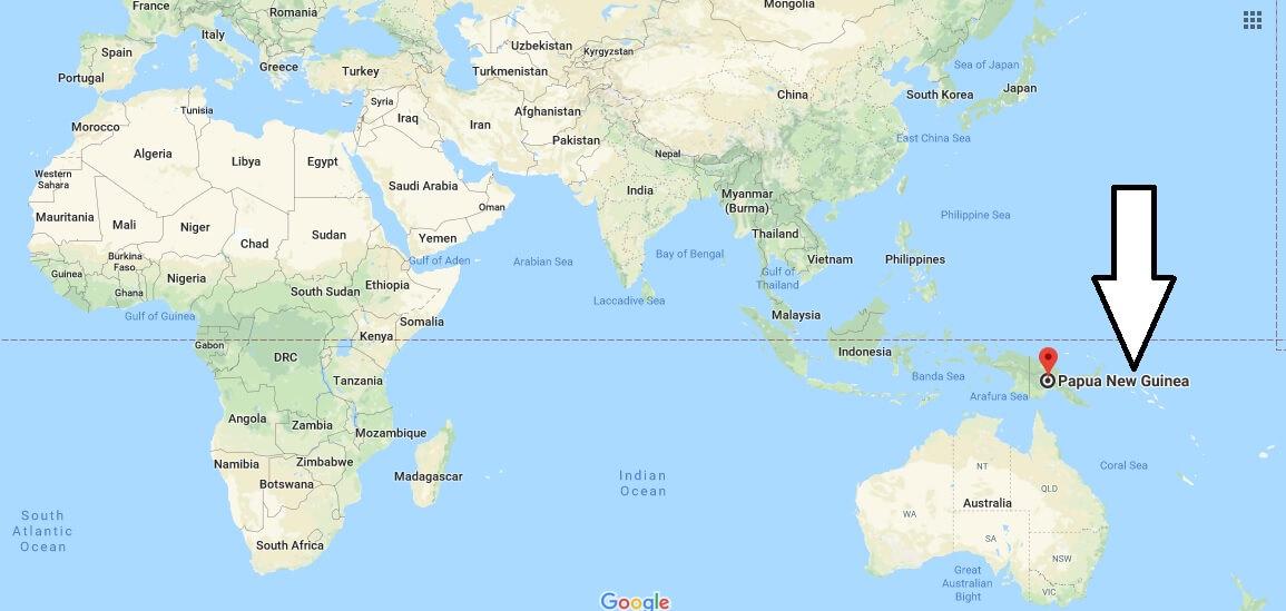 Where is Papua New Guinea? / Where is Papua New Guinea