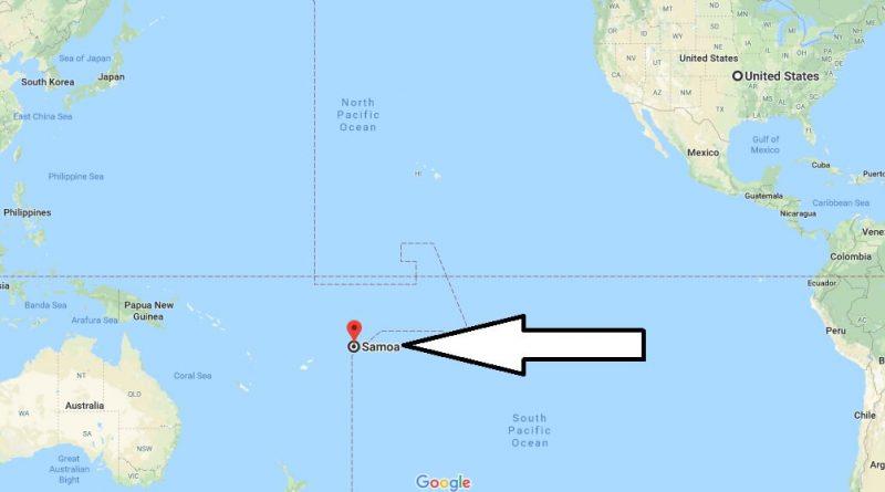 Where Is Samoa On A Map Where is Samoa? / Where is Samoa Located in The World? / Samoa Map