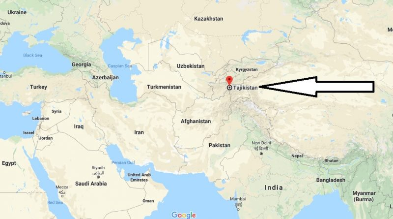 Where is Tajikistan - Where is Tajikistan Located in The World - Tajikistan Map