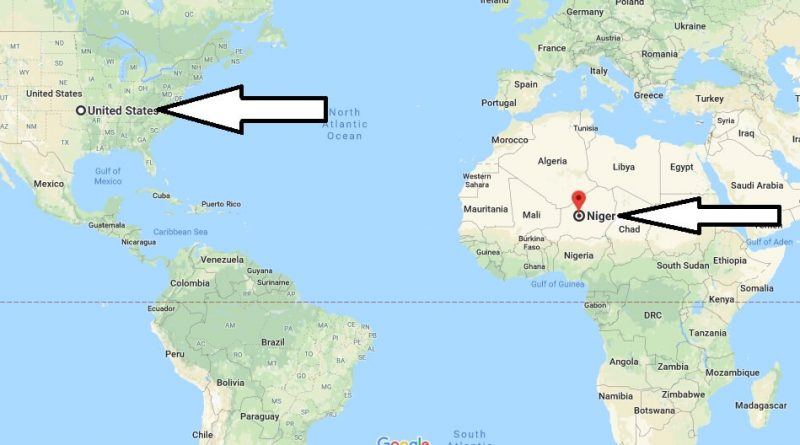 Where is The Niger - Where is The Niger Located in The World - The Niger Map
