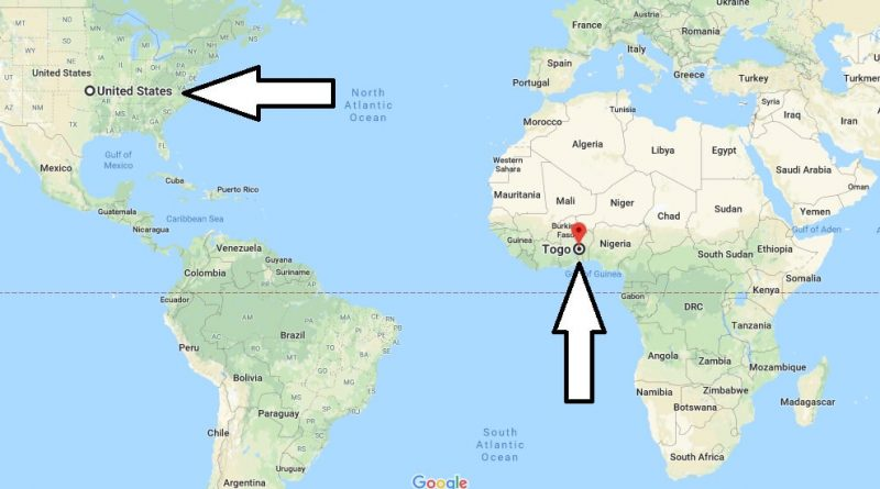 togo location on world map Where Is Togo What Country And Continent Is Togo Where Is Map