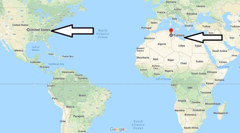 Where is Tunisia - Where is Tunisia Located in The World - Tunisia Map