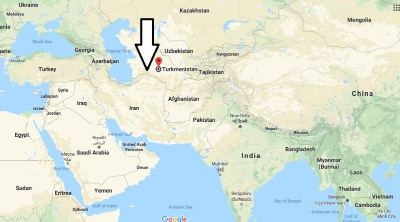 Where is Turkmenistan - Where is Turkmenistan Located in The World