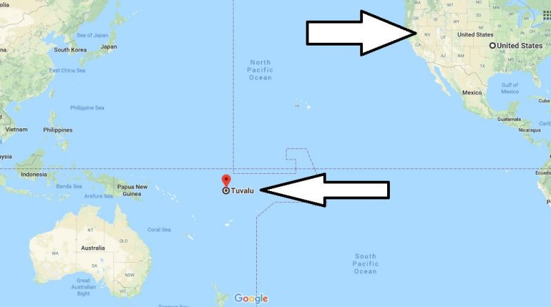 Where is Tuvalu - Where is Tuvalu Located in The World - Tuvalu Map