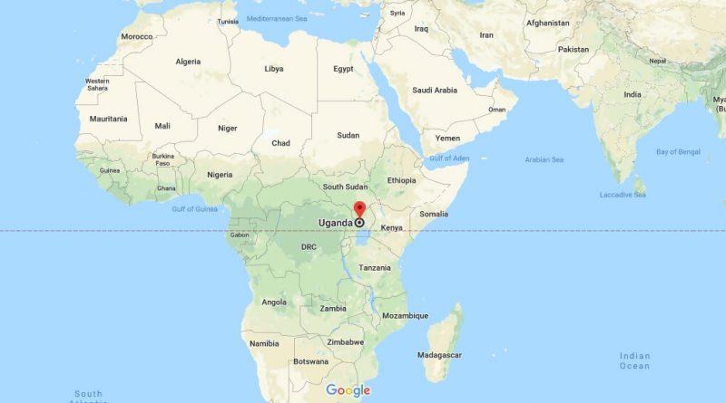 Where is Uganda - Where is Uganda Located in The World - Uganda Map