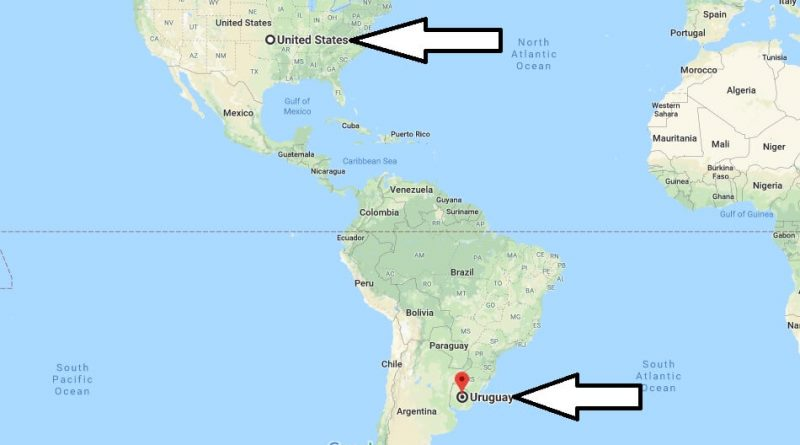 Where is Uruguay - Where is Uruguay Located in The World - Uruguay Map