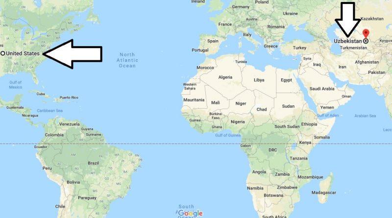 Where is Uzbekistan - Where is Uzbekistan Located in The World - Uzbekistan Map