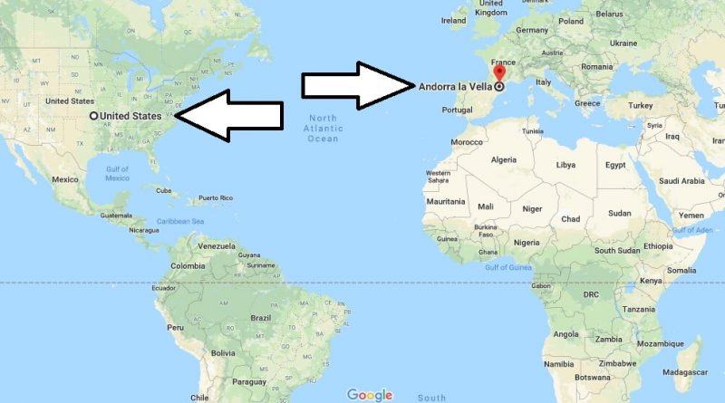 Where is Andorra La Vella - What Country is Andorra La Vella in - Andorra La Vella Map