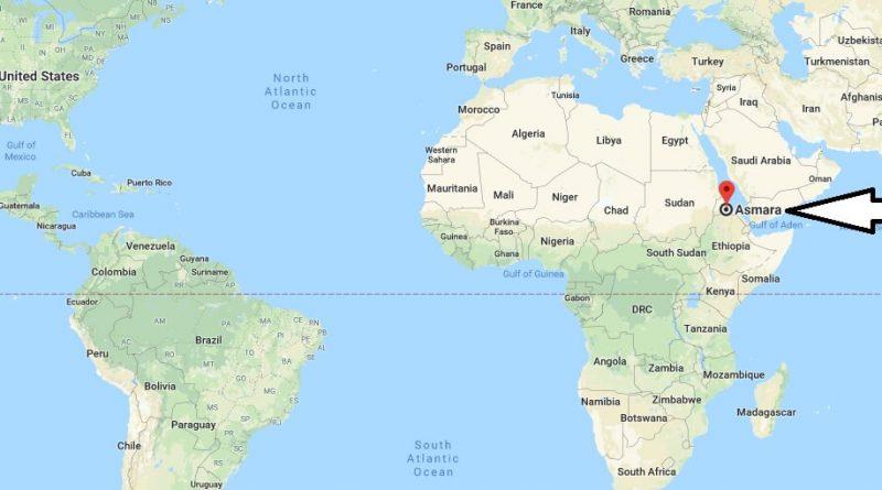 Where is Asmara - What Country is Asmara in - Asmara Map