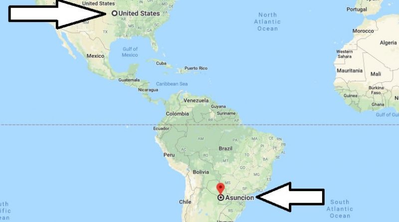 Where is Asuncion - What Country is Asuncion in - Asuncion Map