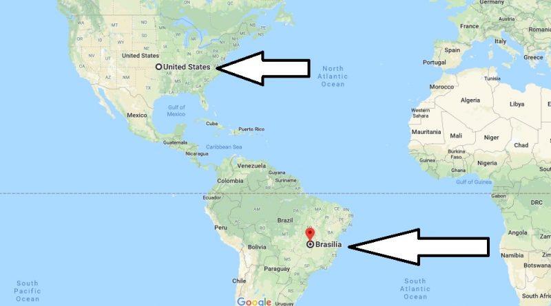 Where is Brasilia - What Country is Brasilia in - Brasilia Map