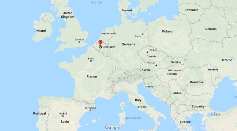 Where is Brussels - What Country is Brussels in - Brussels Map