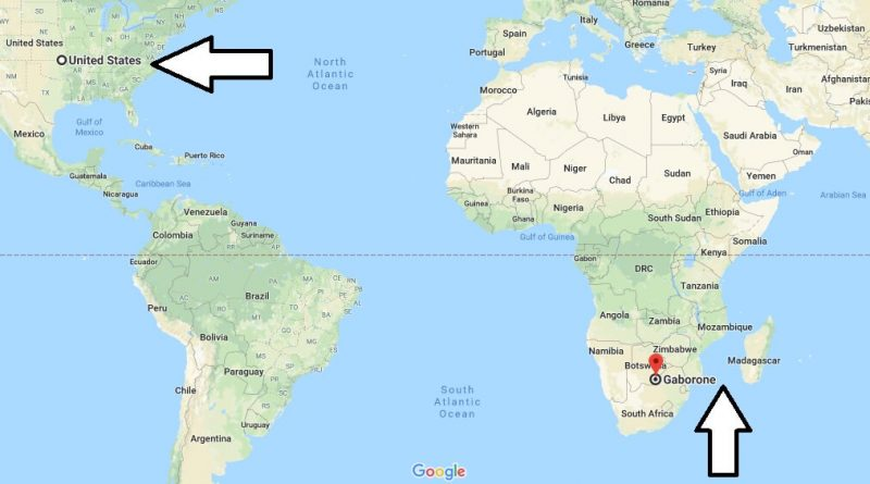 Where is Gaborone - What Country is Gaborone in -Gaborone Map