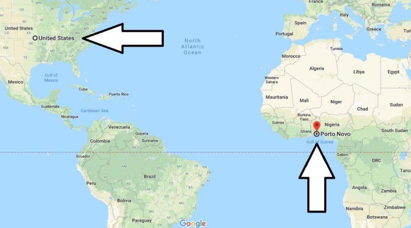 Where is Porto-Novo - What Country is Porto-Novo in - Porto-Novo Map