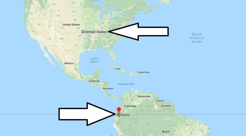 Where is Quito - What Country is Quito in - Quito Map