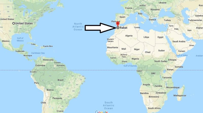 Where is Rabat - What Country is Rabat in - Rabat Map
