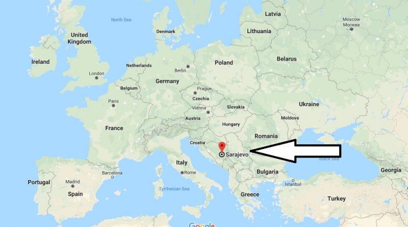 Where is Sarajevo - What Country is Sarajevo in - Sarajevo Map