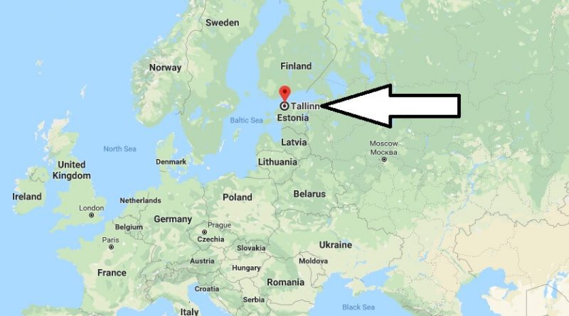 Where is Tallinn - What Country is Tallinn in - Tallinn Map