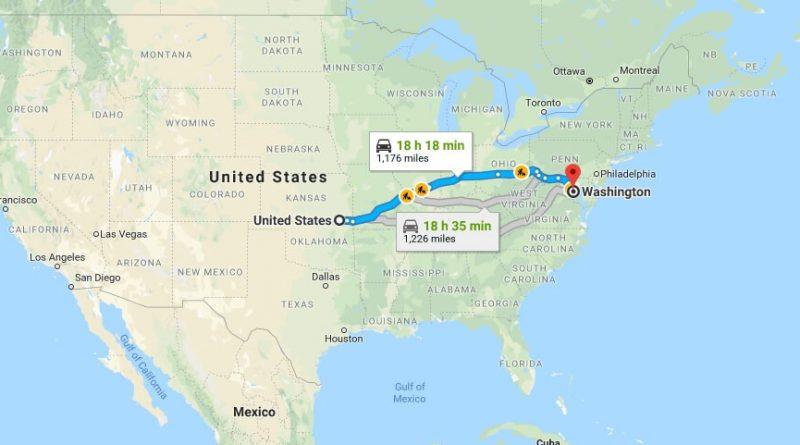 Where is Washington - What Country is Washington in - Washington Map