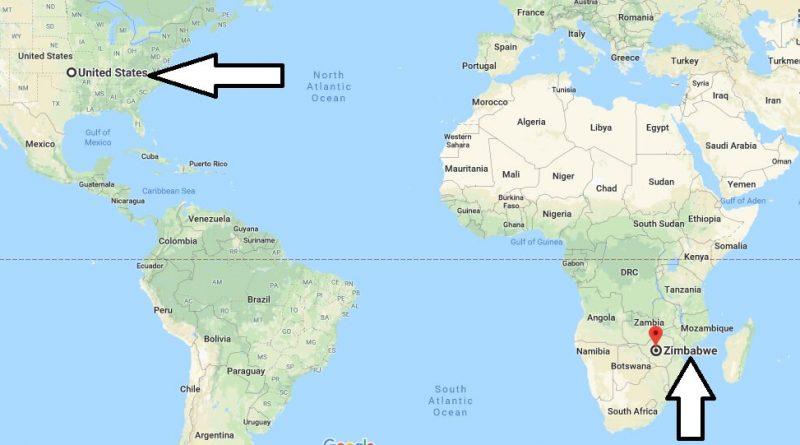 Where is Zimbabwe - Where is Zimbabwe Located in The World - Zimbabwe Map