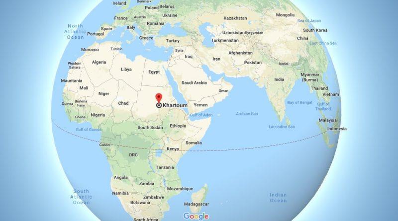 Where is Khartoum - What Country is Khartoum in - Khartoum Map