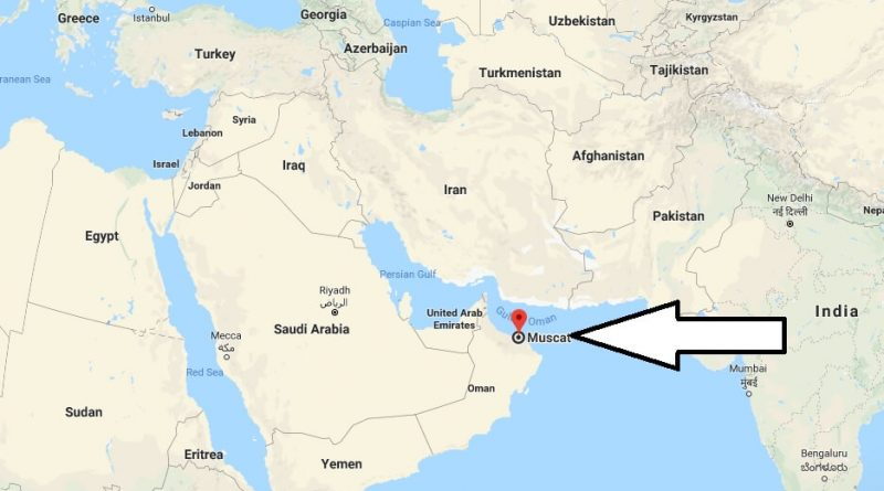 Where is Muscat - What Country is Muscat in - Muscat Map