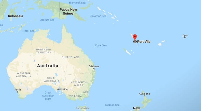 Where is Port Vila - What Country is Port Vila in - Port Vila Map