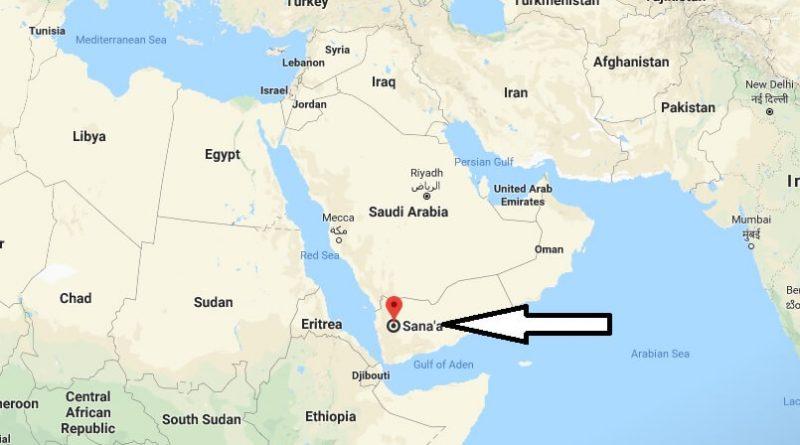 Where is Sanaa - What Country is Sanaa in - Sanaa Map