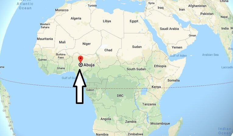 Where is Abuja - What Country is Abuja in - Abuja Map